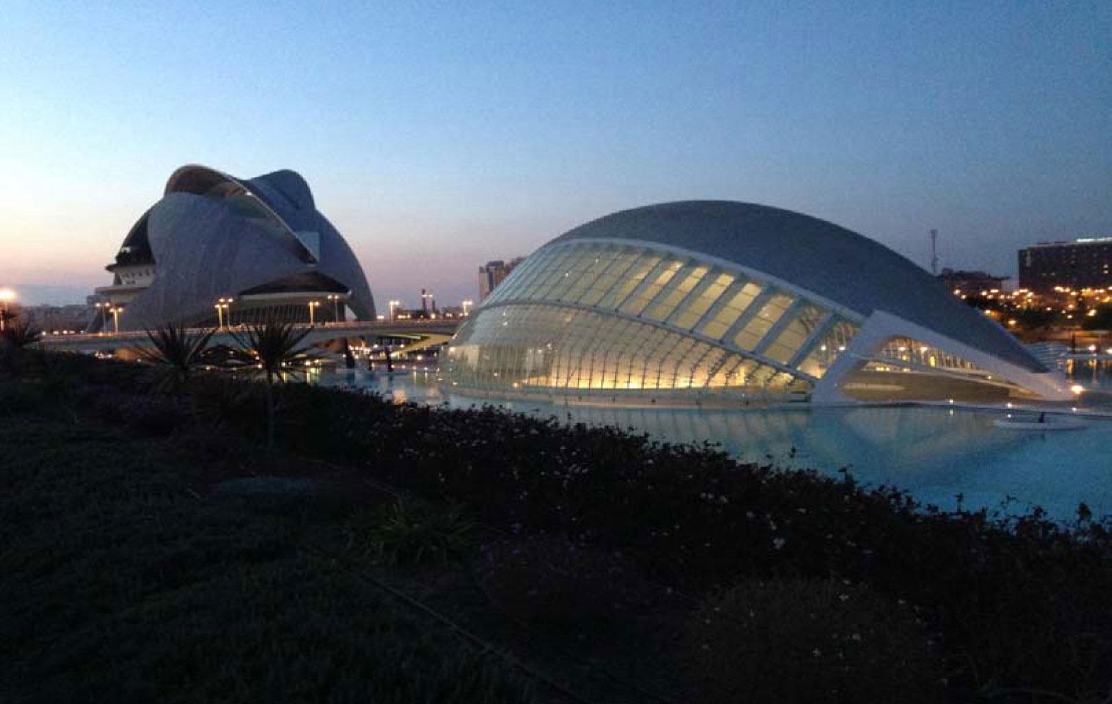 Die Stadt der Künste und der Wissenschaft